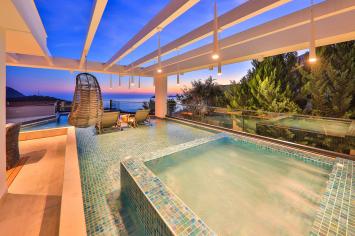 4 bedroom Kalkan villa for rental