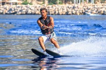 Water skiing in Kalkan Bay