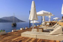 One of Kalkan's great beach clubs