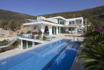 4 bedroom Kalkan villa for holiday rental